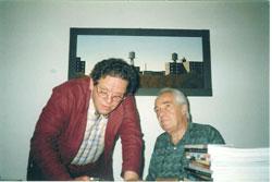 Philippe Daverio e Adriano Baldi